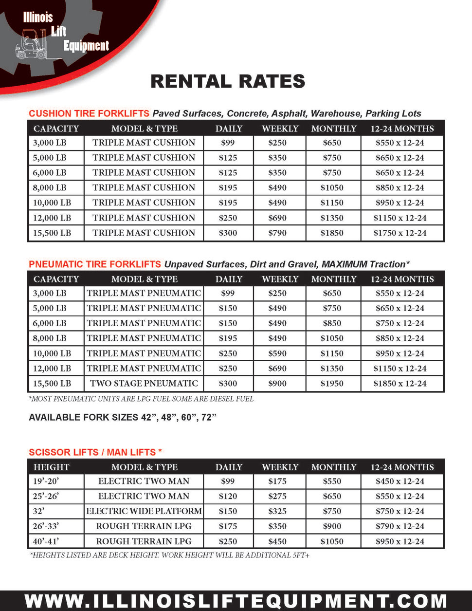 rental-rates-sheet
